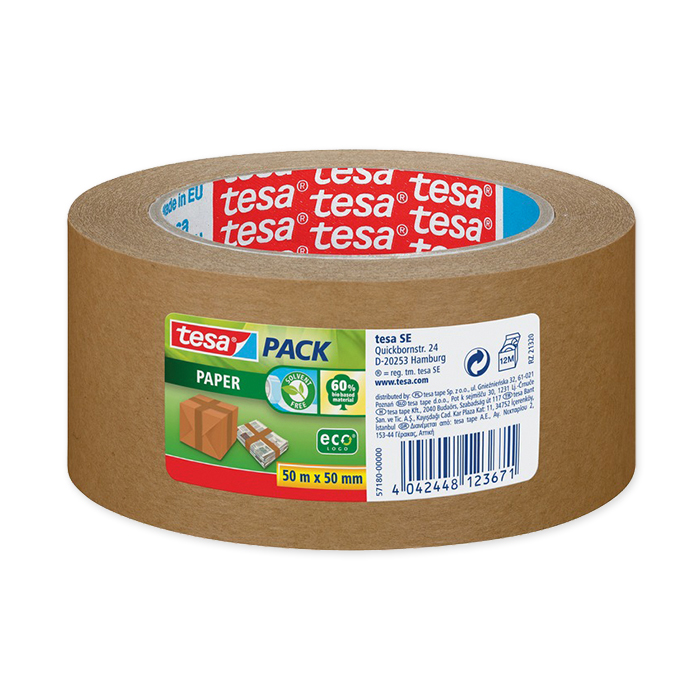 tesapack Eco Logo packaging tape