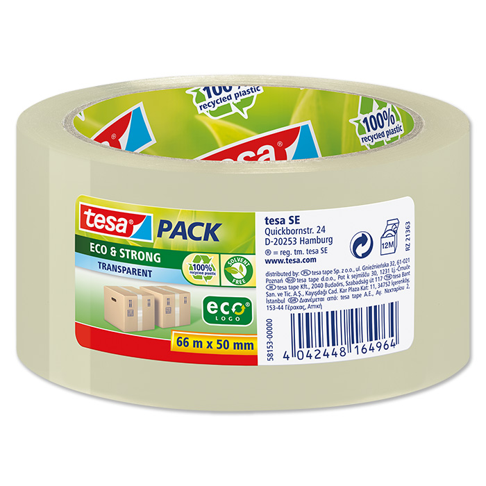 tesapack Packaging tape eco & strong