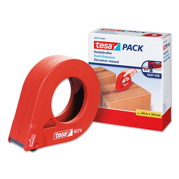 tesa Dispenser for packaging tape for rolls 38 mm x 66 m