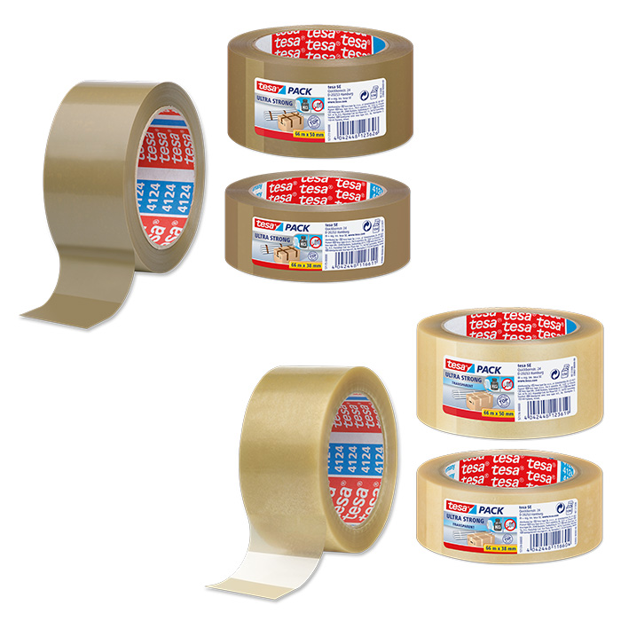 tesapack Packaging tape ultra strong
